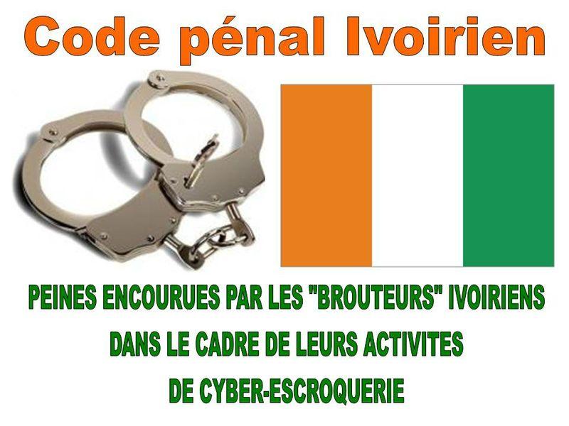 Code p nal ivoirien peines encourues par les brouteurs - Coups et blessures volontaires code penal ...