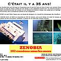 102 camions sous les mers