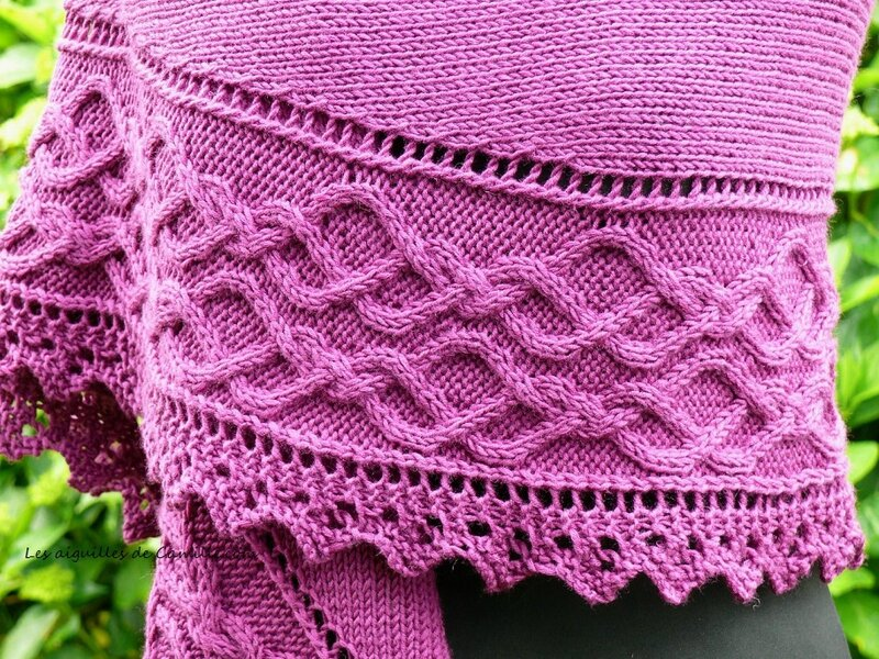 Lovely day Shawl 2