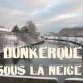 DUNKERQUE SOUS LA NEIGE