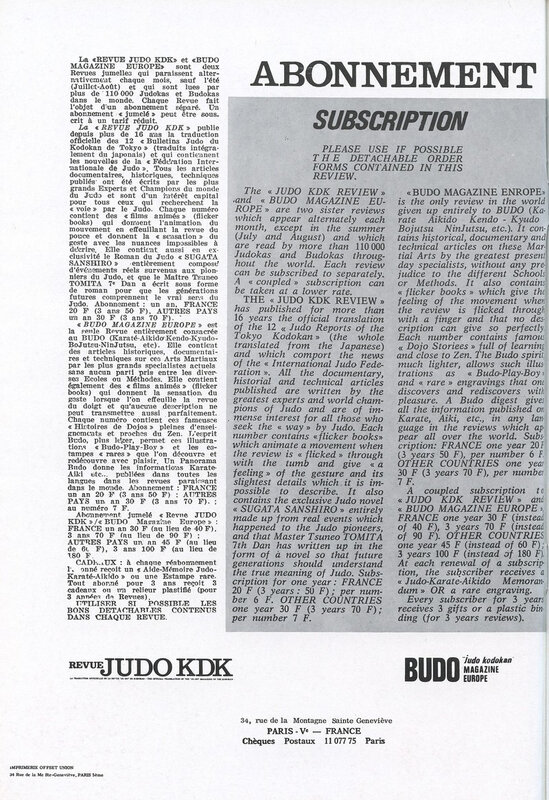 Canalblog Revue Budo Magazine 1969 Mai 03