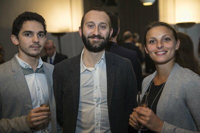 Paul Lamoureux, Julien Gasco et Julie Dremière, Elior Group