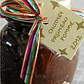 Pour un cadeau gourmand : chutney pruneau-pomme-epices