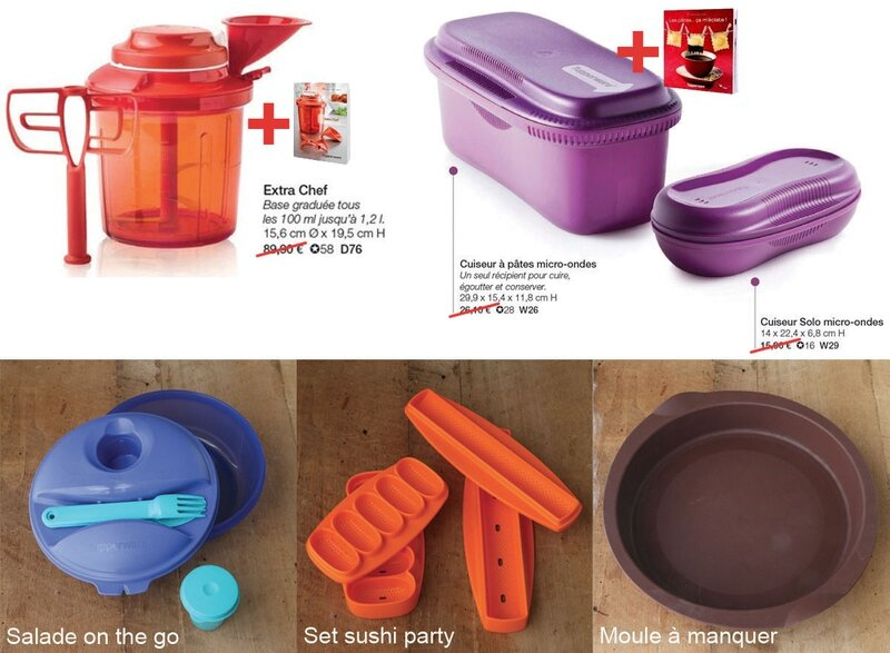 vente tupperware LE MIAM MIAM BLOG