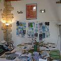 Mixed média et art textile à préniac.....