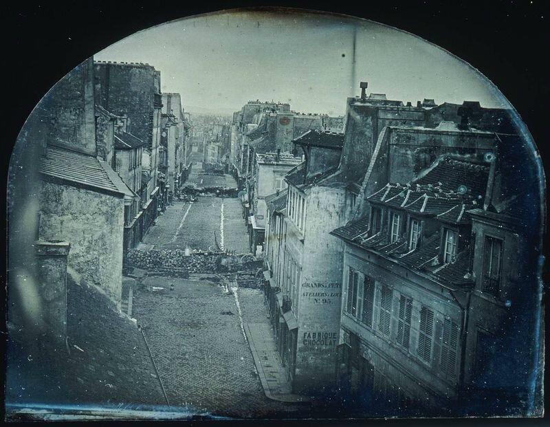barricade rue Saint-Maur 25 juin 1848