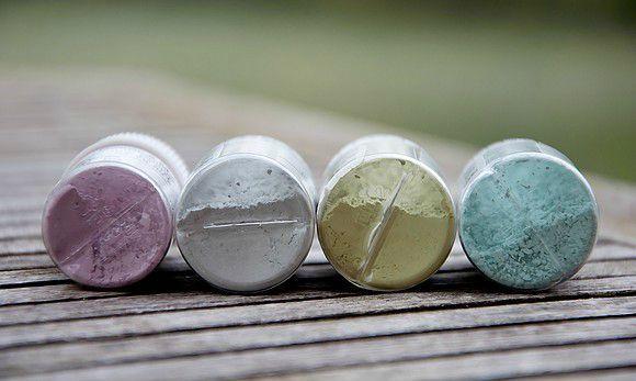 verre élise pigments