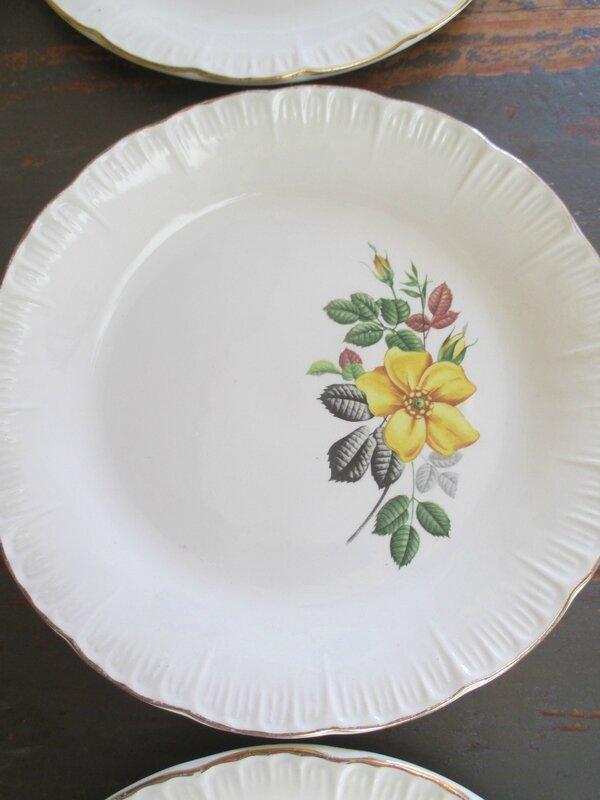 vaisselles décors cerises