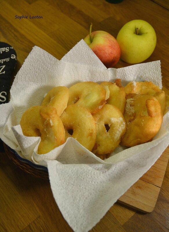 Beignets aux pommes