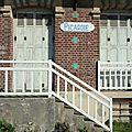 Mers-Les-Bains, façades, La Picardie (80)