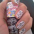 Des graffitis sur les ongles avec nail inc
