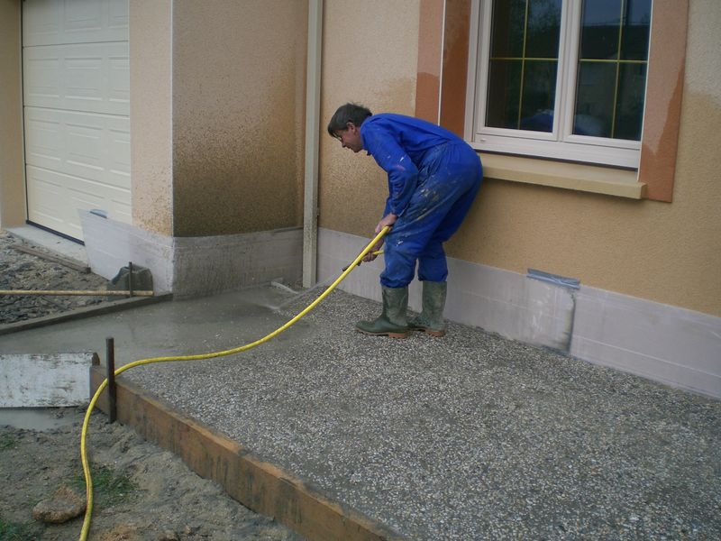 le gravier lav devant - Devant De Maison En Gravier