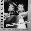 9. affiche concert de Claude Alexis /2000