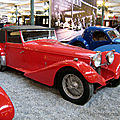 Bugatti type 57 S (carrossé par Van Den Plas) cabriolet de 1938 (Cité de l'Automobile Collection Schlumpf à Mulhouse) 01