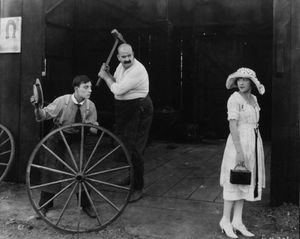 buster keaton the blacksmith