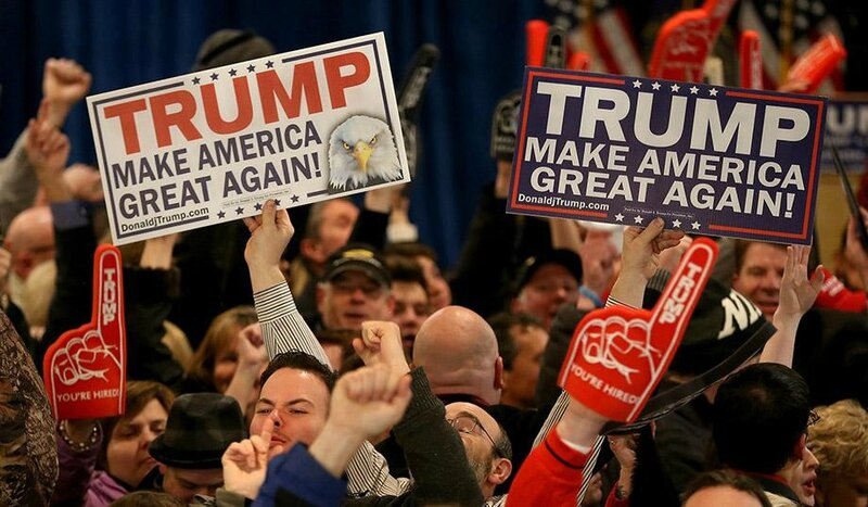 donald-trump-supporters make america great again