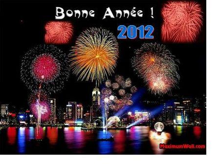 meilleurs voeux 2012
