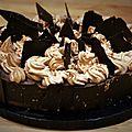 Le gâteau au chocolat-noisettes d'agathe