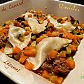 Ravioles de Confit de Canard