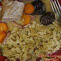 Filet mignon aux carottes et pruneaux