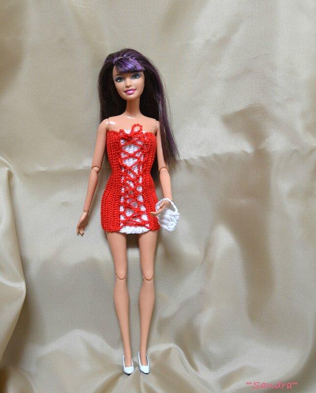 Barbie robe corset 1