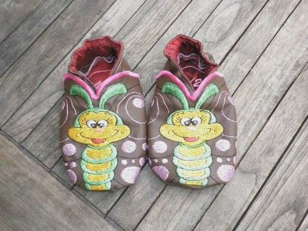 chaussons papillons