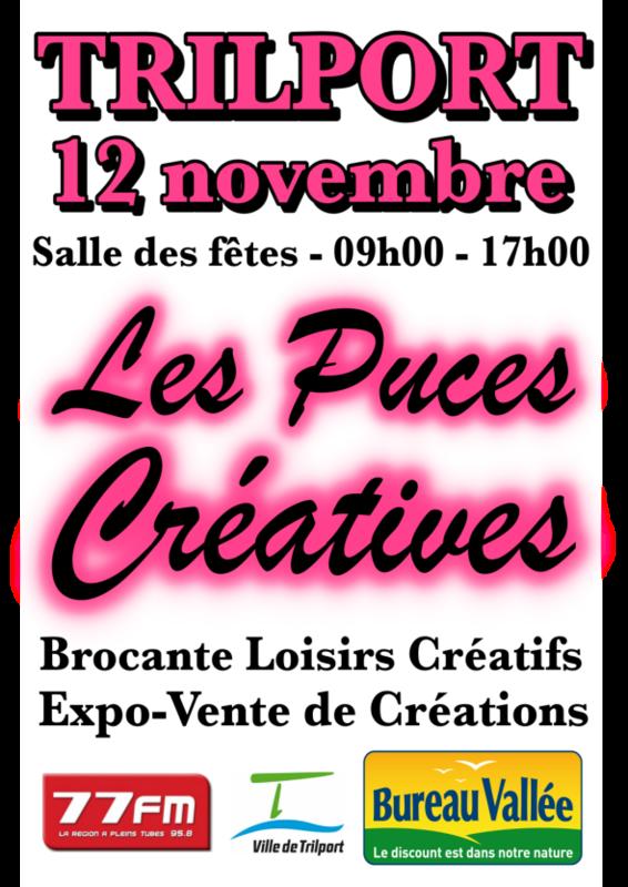 Affiche A4 - Puces Créatives