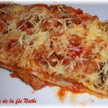 Lasagnes express thon ratatouille