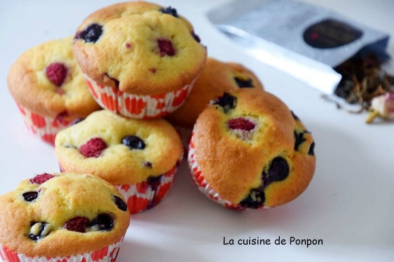 muffin fruits rouges (7)