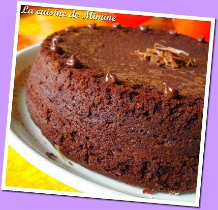 Gateau au chocolat en poudre extra moelleux