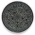 A black lacquer 'tixi' tray, ming dynasty, 16th century