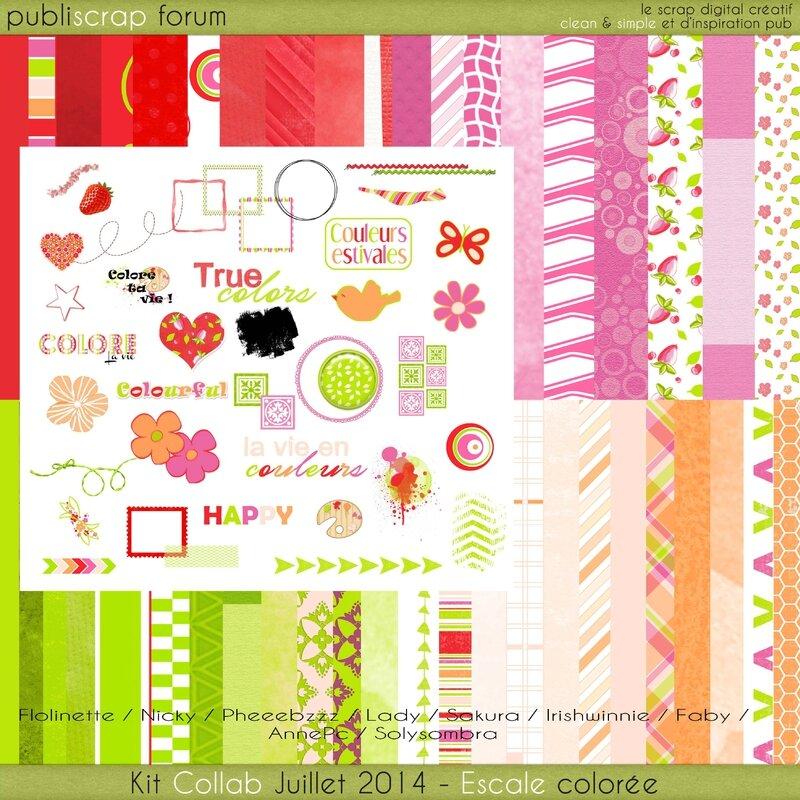 00 - Kit Escale colorée