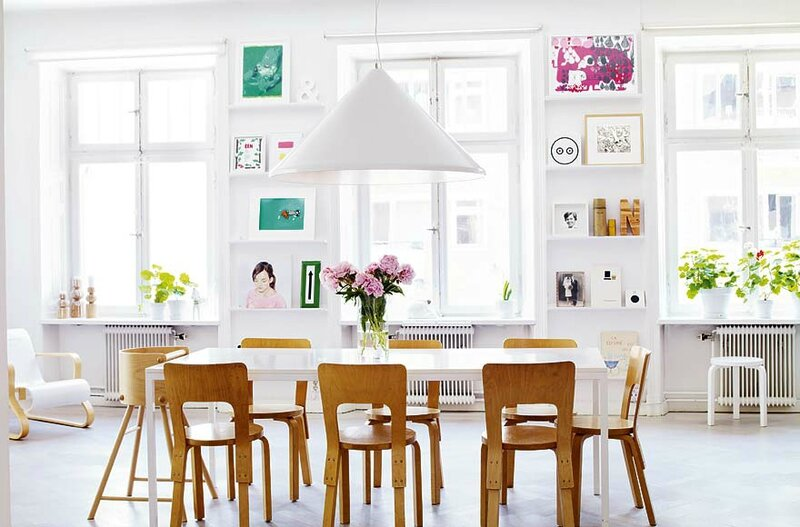 Skeppsholmen-Quirky-art-collection-Modern-Swedish-dining