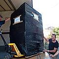 matériel et fournitures envoyés à Yobohoué
