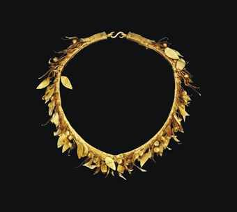 a_greek_gold_myrtle_wreath_hellenistic_period_circa_3rd_2nd_century_bc_d5547026h