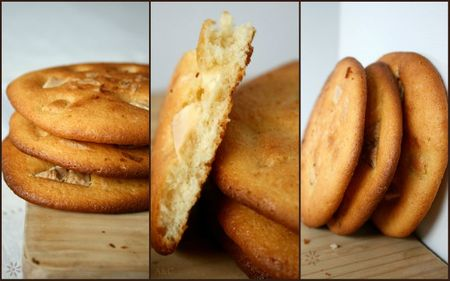 Maxi cookies ricotta chocolat blanc 2