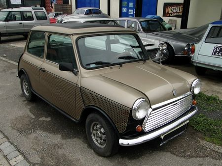 austin mini avec cannage, 3