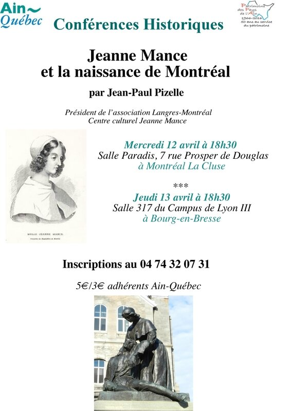 affichette conf Jeanne Mance