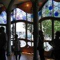 Baie vitrée Casa Battlo