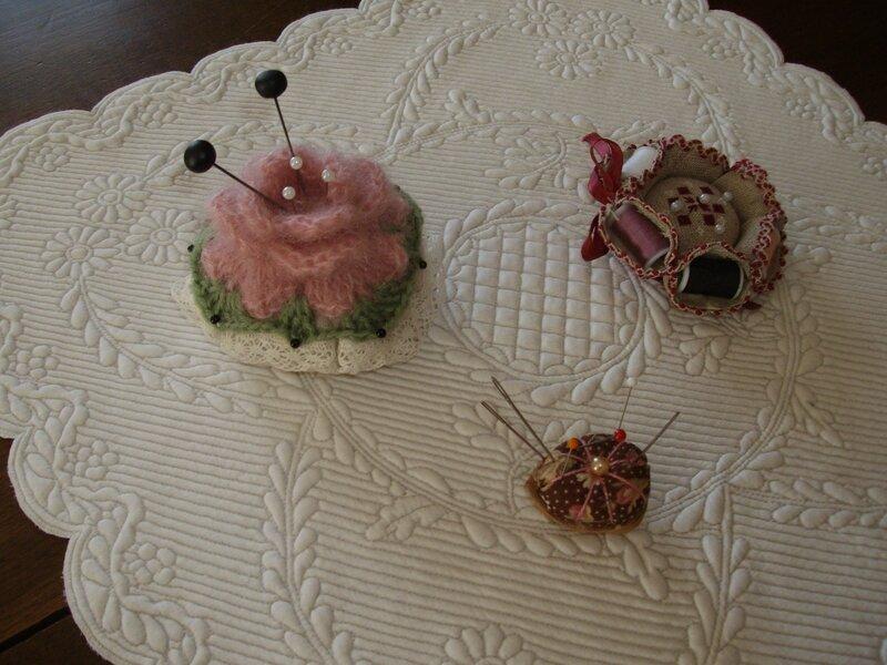 pique-aiguilles gâteau
