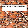 Macron : le panier de crabes