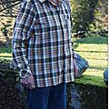 Chemise à carreaux de noël