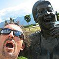 Jénorme est avec Aretha Franklin, Montreux (Suisse)