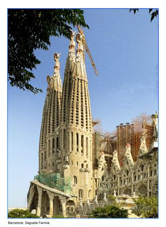 VE01 - Barcelone, Sagrada Familia
