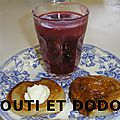 Kissel aux fruits rouges