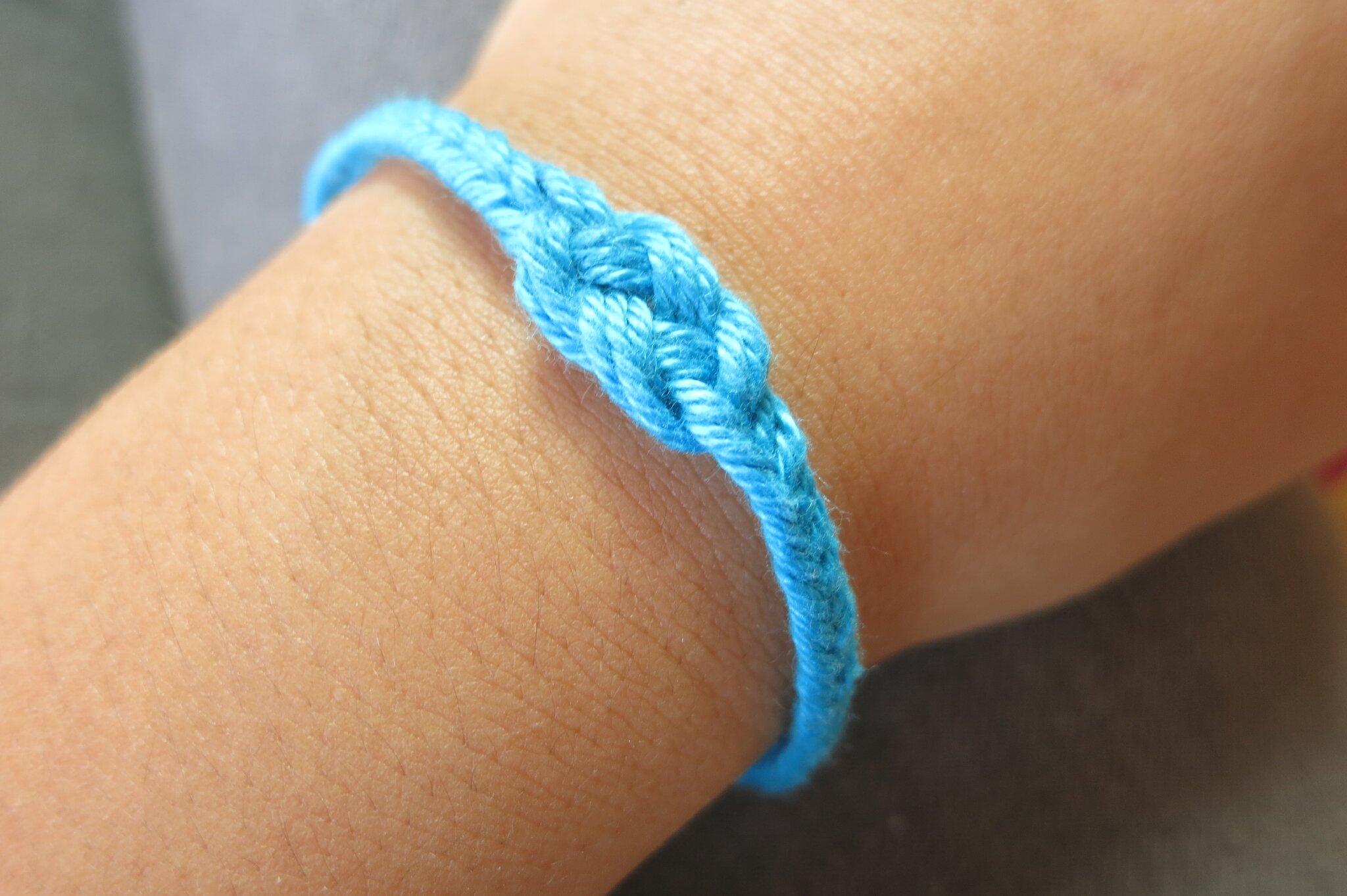 bracelet file bresilien motif neux marin