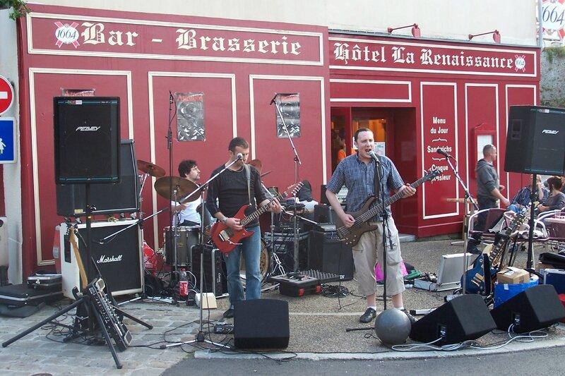 Fête de la musique Avranches bar la Renaissance 2008