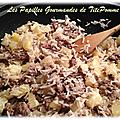 Wok de riz à l'ananas et au bœuf [ou comment mettre un peu d'exotisme dans votre assiette !]