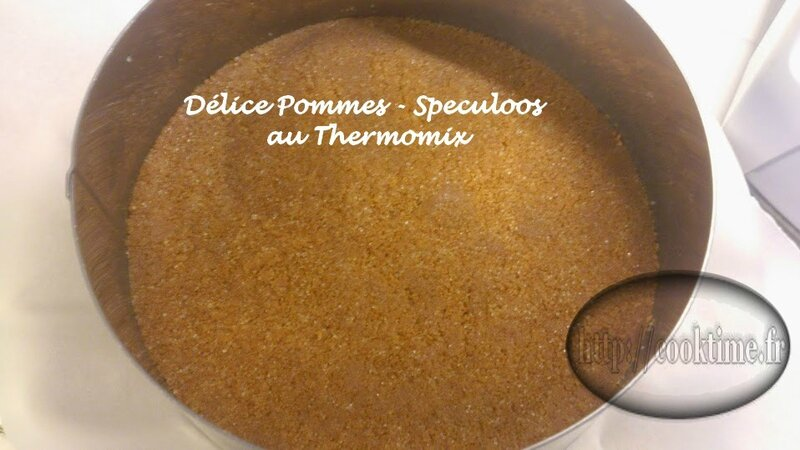 Delice pommes speculoos thermomix 4