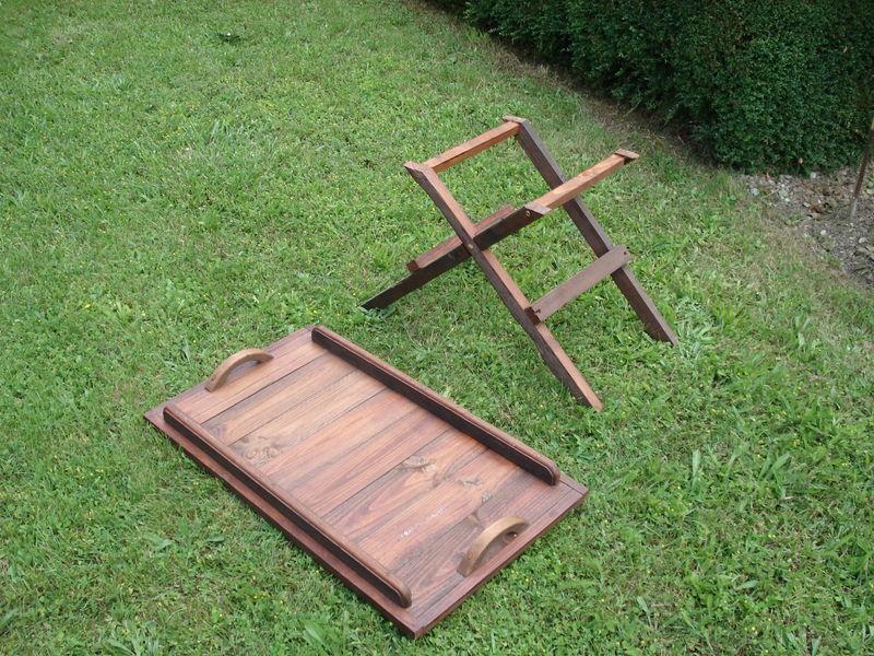 Plateau pour table de jardin images - Plateau rond pour table castorama ...